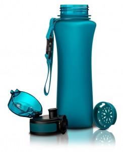фото Бутылка для воды спортивная Uzspace  (500ml) голубая (6008BL) #2