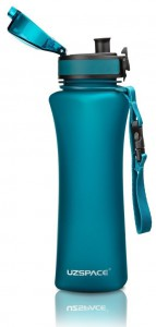 фото Бутылка для воды спортивная Uzspace  (500ml) голубая (6008BL) #5
