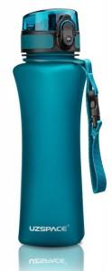 Бутылка для воды спортивная Uzspace  (500ml) голубая (6008BL)