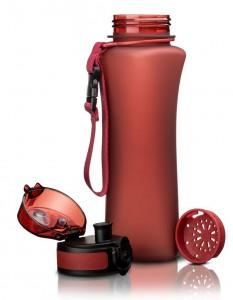 фото Бутылка для воды спортивная Uzspace  (500ml) красный (6008RD) #3