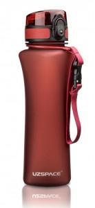 фото Бутылка для воды спортивная Uzspace  (500ml) красный (6008RD) #4