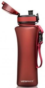 фото Бутылка для воды спортивная Uzspace  (500ml) красный (6008RD) #5