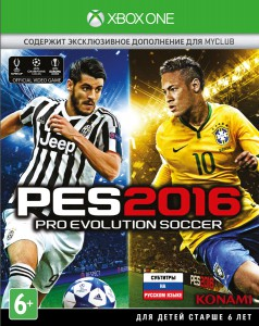 игра Pro Evolution Soccer 2016 Xbox One - русская версия