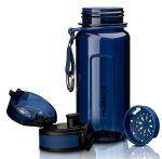 фото Бутылка для воды спортивная Uzspace (350ml) синяя (6017blue) #3