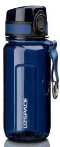 Бутылка для воды спортивная Uzspace (350ml) синяя (6017blue)