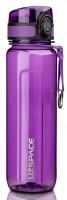 Бутылка для воды спортивная Uzspace  (500ml) фиолетовая (6018purple)