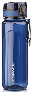 Бутылка для воды спортивная Uzspace (750ml) синяя (6019blue)
