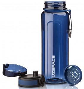 фото Бутылка для воды спортивная Uzspace (750ml) синяя (6019blue) #2
