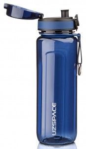 фото Бутылка для воды спортивная Uzspace (750ml) синяя (6019blue) #3