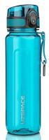 Бутылка для воды спортивная Uzspace (500ml) голубая (6018cyan)