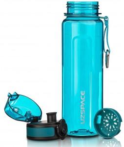 фото Бутылка для воды спортивная Uzspace (500ml) голубая (6018cyan) #3