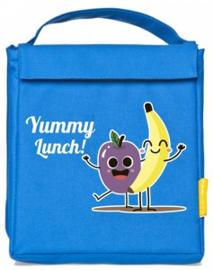 Термосумка ланч-бэг Pack&Go Lunch bag детский, голубой