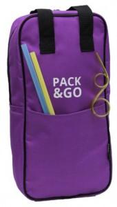 фото Термосумка ланч-бэг Pack&Go Bottle Bag, фиолетовый #6