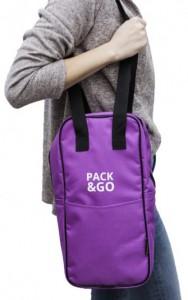 фото Термосумка ланч-бэг Pack&Go Bottle Bag, фиолетовый #3