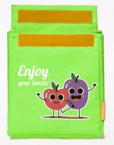 фото Термосумка ланч-бэг Pack&Go Lunch bag детский, салатовый #3