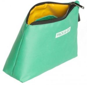 фото Термосумка ланч-бэг Pack&Go Lunch bag Easy Bag косметичка, мятный #4