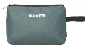Термосумка ланч-бэг Pack&Go Lunch bag Easy Bag косметичка, серый