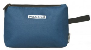 Термосумка ланч-бэг Pack&Go Lunch bag Easy Bag косметичка, синий