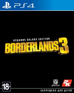 игра Borderlands 3 Deluxe Edition PS4 - русская версия
