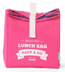 фото Термосумка ланч-бэг Pack&Go Lunch Bag L, розовый #2