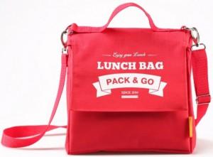 фото Термосумка ланч-бэг Pack&Go Lunch Bag L+ с логотипом, красный #2