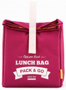 Термосумка ланч-бэг Pack&Go Lunch Bag L, ягодный