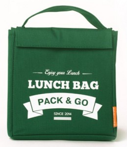 Термосумка ланч-бэг Pack&Go Lunch Bag M, зеленый