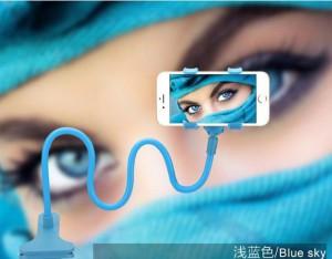 Подарок Держатель для телефона (голубой)