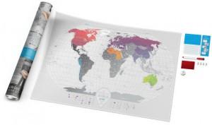 фото Скретч-карта мира Travel Map 'AIR World' #5
