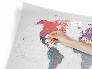 фото Скретч-карта мира Travel Map 'AIR World' #4