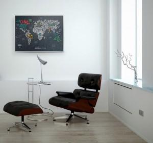 фото Скретч-карта мира Travel Map 'Letters World' #5