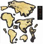 фото Скретч-карта мира Travel Map 'Magnetic World' #2