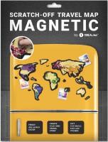 Подарок Скретч-карта мира Travel Map 'Magnetic World'
