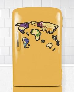 фото Скретч-карта мира Travel Map 'Magnetic World' #4
