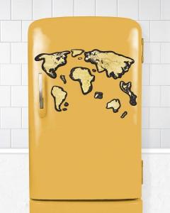 фото Скретч-карта мира Travel Map 'Magnetic World' #3