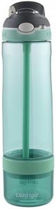 Бутылка для воды Contigo Ashland Infuser Greyed Jade с контейнером для фруктов, 770 мл, зеленая (72911)