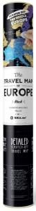 фото Скретч-карта Европы Travel Map 'Europe Black' #4