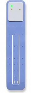 Подарок Лампа-закладка для книг Moleskine Booklight ,голубая (ER7BLB12)