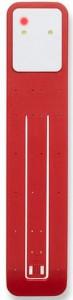 Подарок Лампа-закладка для книг Moleskine Booklight ,красная (ER7BLF2)