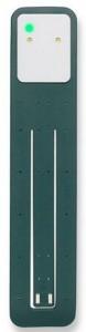 Подарок Лампа-закладка для книг Moleskine Booklight ,зеленая (ER7BLK19)