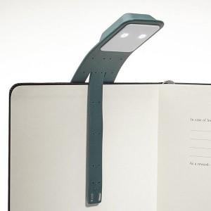 фото Лампа-закладка для книг Moleskine Booklight ,зеленая (ER7BLK19) #4