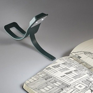 фото Лампа-закладка для книг Moleskine Booklight ,зеленая (ER7BLK19) #5