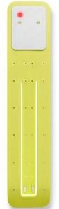 фото Лампа-закладка для книг Moleskine Booklight ,желтая (ER7BLM6) #2