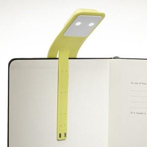 фото Лампа-закладка для книг Moleskine Booklight ,желтая (ER7BLM6) #5