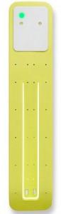 Подарок Лампа-закладка для книг Moleskine Booklight ,желтая (ER7BLM6)