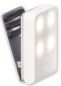 фото Лампа-закладка для путешествий Moleskine , белая (ER61TVBLWH) #2