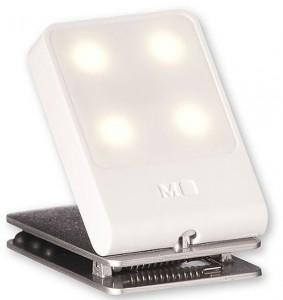 Подарок Лампа-закладка для путешествий Moleskine , белая (ER61TVBLWH)