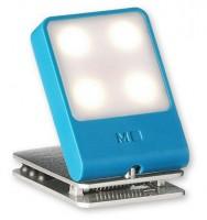 Подарок Лампа-закладка для путешествий Moleskine , синяя (ER61TVBLB21)