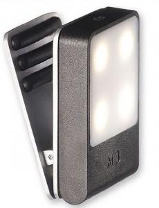 фото Лампа-закладка для путешествий Moleskine , черная (ER61TVBLBK) #2