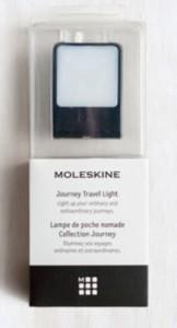 фото Лампа-закладка для путешествий Moleskine , черная (ER61TVBLBK) #4